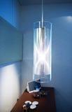 现代闪亮指示的照明设备 免版税库存图片