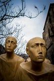 现代雕塑 图库摄影