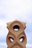现代雕塑 库存照片