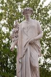 现代雕象公园Venaria都灵,意大利 图库摄影