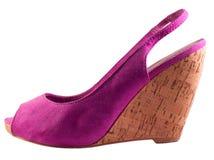 现代鞋子妇女 免版税库存照片