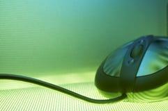 现代鼠标 免版税库存照片