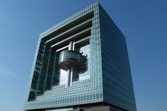 现代1个的大厦 库存图片