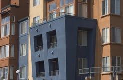 现代2栋的公寓 免版税库存图片