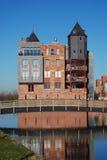 现代3座城堡的haverleij 免版税库存照片