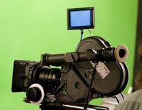 现代35台照相机的影片mm 免版税库存图片
