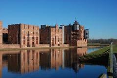 现代4座城堡的haverleij 图库摄影