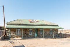 现在历史的收费处西部的Barkly的一个博物馆 库存图片