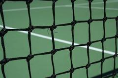 现场净网球 免版税库存图片