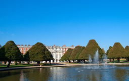 现场汉普顿宫殿 免版税图库摄影