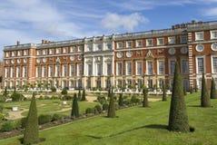 现场汉普顿宫殿 免版税库存图片