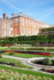 现场汉普顿宫殿 库存图片