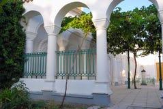 现场karaite寺庙围场 库存图片