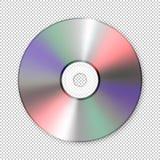 现实传染媒介cd象 构思设计餐馆模板 库存照片