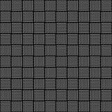 现实图形设计墙纸背景的白色和黑织品纺织材料纹理样式 无缝的装饰品 Vect 免版税库存照片