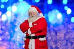 现实圣诞老人Brightful照片  库存图片