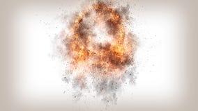 现实火4K背景纹理 库存图片