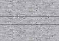 现实灰色木委员会样式背景纹理传染媒介 免版税图库摄影