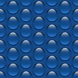 现实玻璃水投下无缝的样式背景传染媒介水雨珠例证 库存照片
