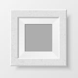 现实空白的照片框架 免版税库存照片