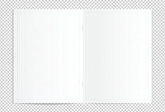 现实空白被加点的拷贝书传播 库存照片