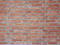 现实红砖墙壁纹理设计 倒空介绍和网络设计的红砖背景 很多空间为 免版税图库摄影