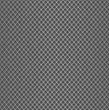 现实金属栅格纹理背景 金属有聚焦和阴影的滤网篱芭结构  传染媒介背景 免版税库存图片