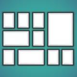 现实画框 免版税库存图片