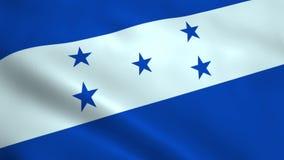 现实洪都拉斯旗子 向量例证