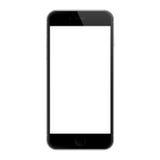 现实iphone 6黑屏传染媒介设计, iphone 6由苹果计算机公司开发了 免版税库存照片