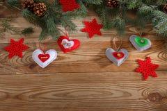 现成的背景或贺卡圣诞节的 库存图片