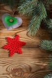 现成的背景或贺卡圣诞节的 图库摄影