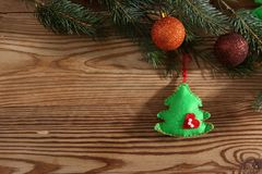 现成的背景或贺卡圣诞节的 库存照片