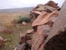 现有量做岩石岩石墙壁 库存照片