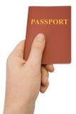 现有量护照 库存图片