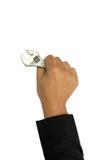 现有量查出的工具 免版税图库摄影