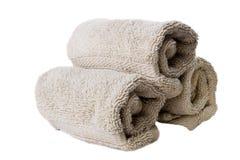 现有量查出的毛巾 图库摄影