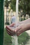 现有量水 免版税图库摄影
