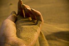 现有量沙子 图库摄影