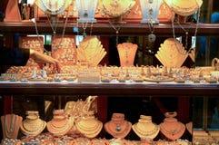 现有量珠宝到达 免版税库存照片