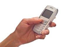 现有量移动电话使用 免版税库存图片