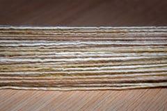 现有量空转的纱线 免版税图库摄影