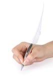现有量笔纤管 免版税库存照片