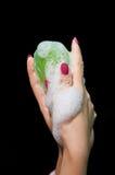 现有量肥皂妇女 库存图片
