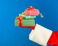 现有量藏品存在s圣诞老人 免版税库存照片