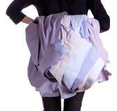 现有量藏品衬衣妇女 免版税库存图片