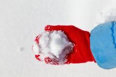 现有量雪 免版税库存照片