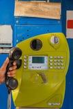 现有量轻的电话挑选射击钨 免版税库存图片
