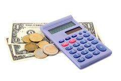 现金更改硬币概念 免版税库存图片