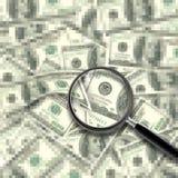 现金背景 免版税图库摄影